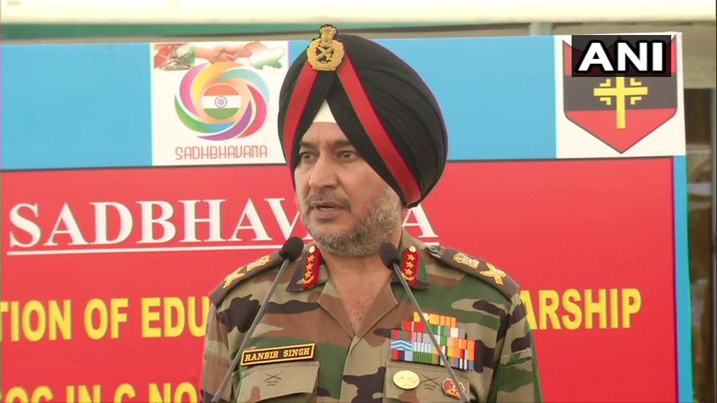 GOC-in-Chief Northern Command, Lt Gen Ranbir Singh