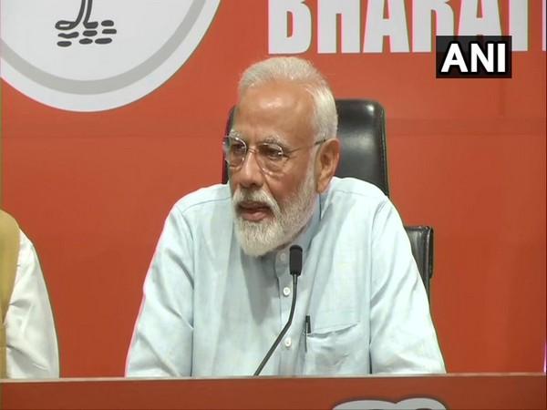 Narendra Modi addresses media at his maiden presser as PM