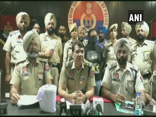 Punjab Police on Saturday arrested a Nigerian woman from Jalandhar. Photo/ANI