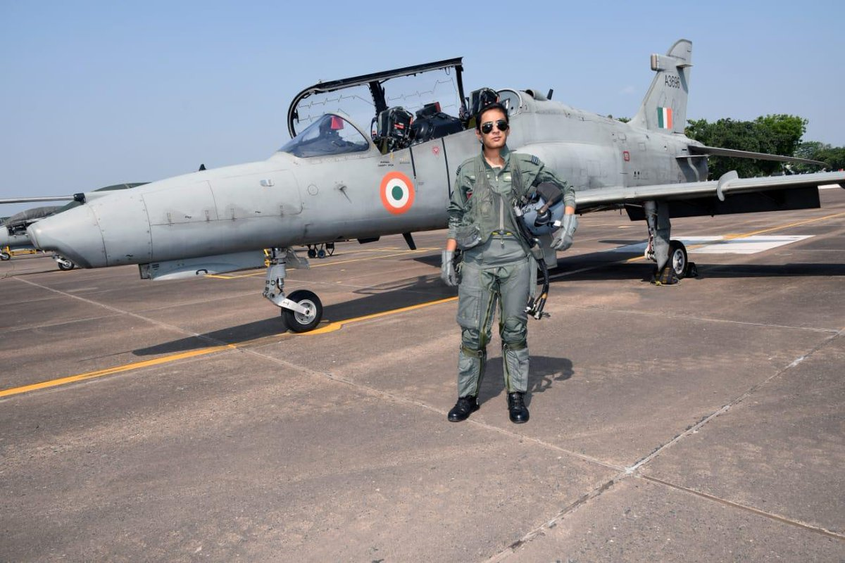 Mohana Singh, one of India's first fighter pilot sets new record