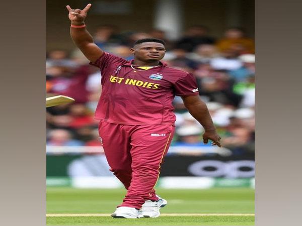 Windies pacer Oshane Thomas (Photo/ Windies Cricket Twitter)