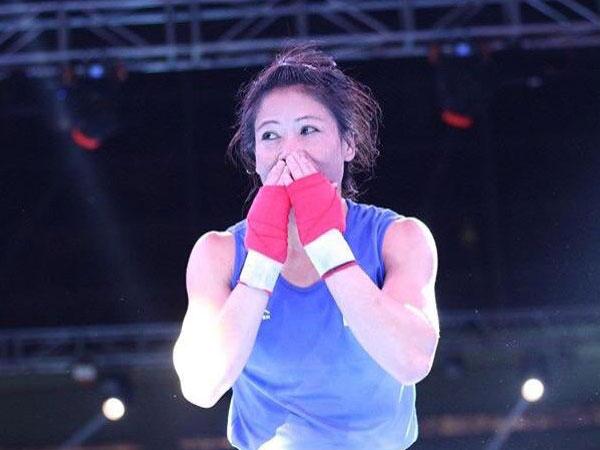 Six-time world champion Mary Kom