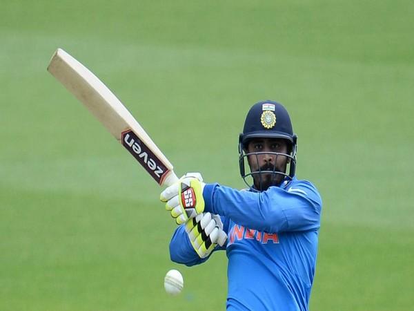 India all-rounder Ravindra Jadeja (Photo/cricketworldcup Twitter)