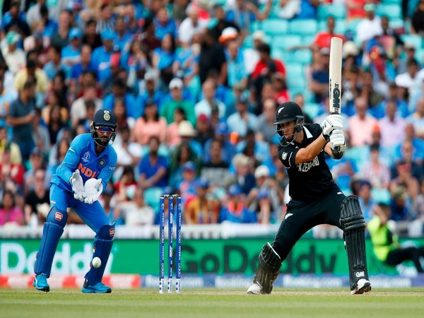 Ross Taylor in action (Photo/cricketworldcup Twitter)