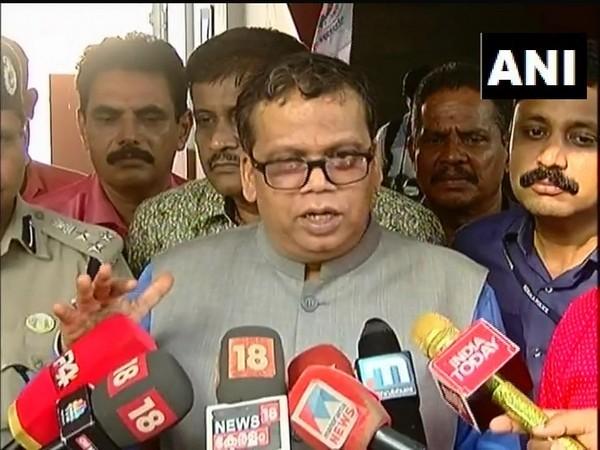 Kerala DGP Loknath Behara addressing media on Tuesday