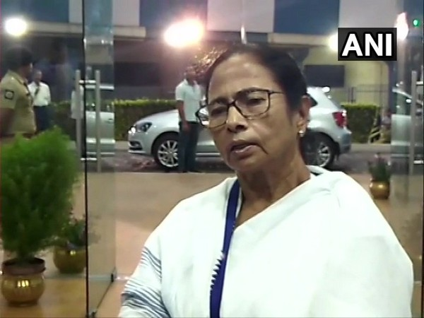 Mamata Banerjee addressing media on Tuesday