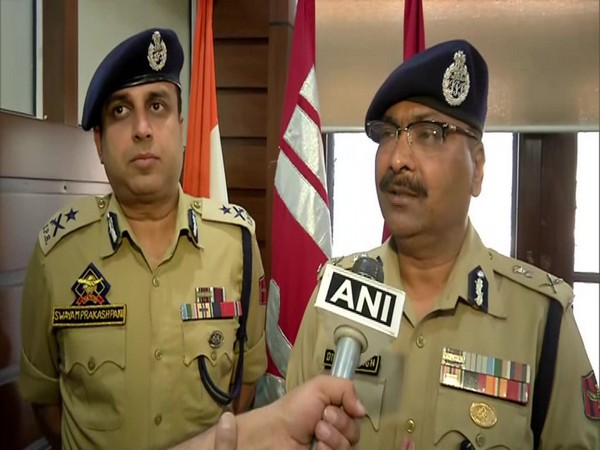 Dilbag Singh, Director General of Police (DGP) speaking to ANI in Srinagar on Tuesday. Photo/ANI