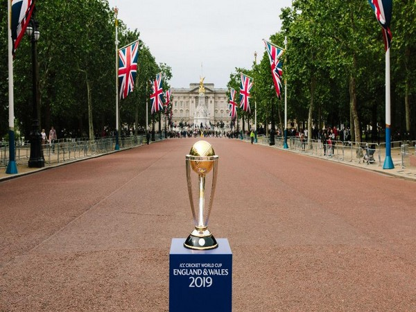 World Cup trophy (Photo/Cricket World Cup Twitter)