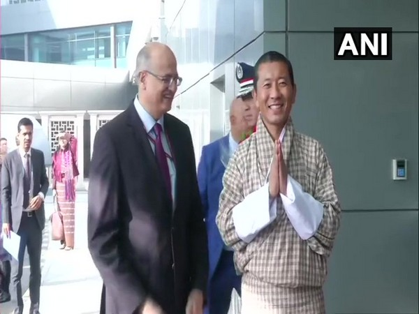 Foreign Secretary Vijay Gokhale and Bhutan Prime Minister Lotay Tshering in Delhi on Thursday