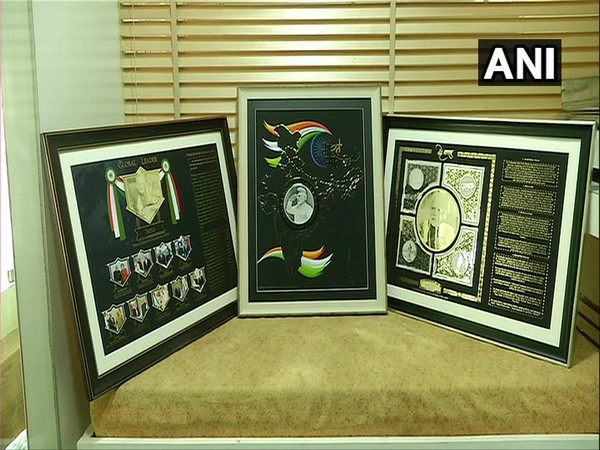 A jeweller from Rajkot has made three mementos with gold and silver for PM Narendra Modi