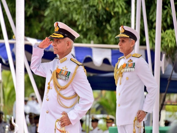 Newly appointed Flag Officer Commanding in Chief of Eastern Naval Command, Atul Kumar Jain.