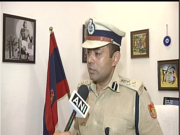 Madhur Verma, DCP speaks to ANI in New Delhi on Thursday. [Photo/ANI]