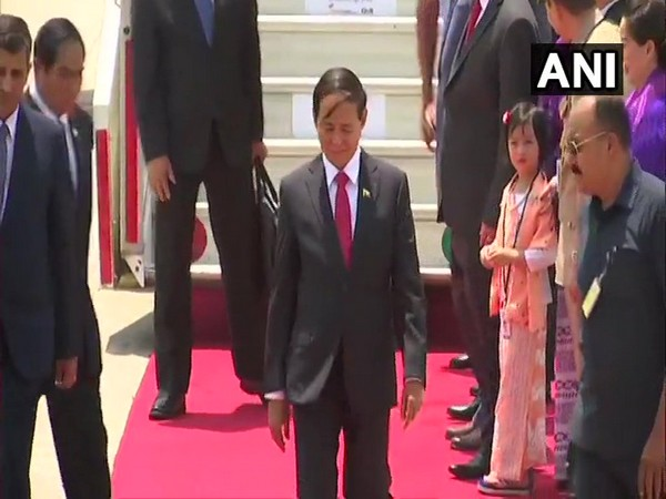 Myanmar President U Win Myint (File photo)