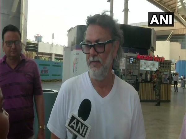 Film director Rakeysh Omprakash Mehra talking to ANI on Thursday. Photo/ANI