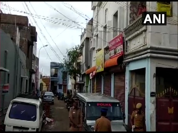 Visuals from Anbu Nagar area of Coimbatore where NIA raids are being held