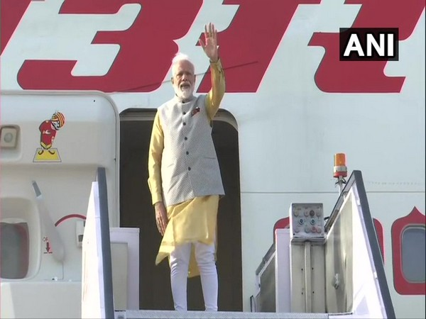 Prime Minister Narendra Modi embarked on a two-day visit to the Kyrgyz capital on Thursday (ANI)