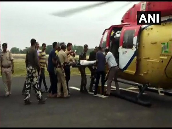 In an encounter with Naxals in Dumka, a jawan has lost his life. [Photo/ANI]