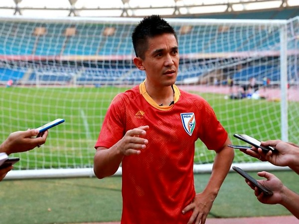Indian football Sunil Chhetri (Photo/Sunil Chhetri Twitter)
