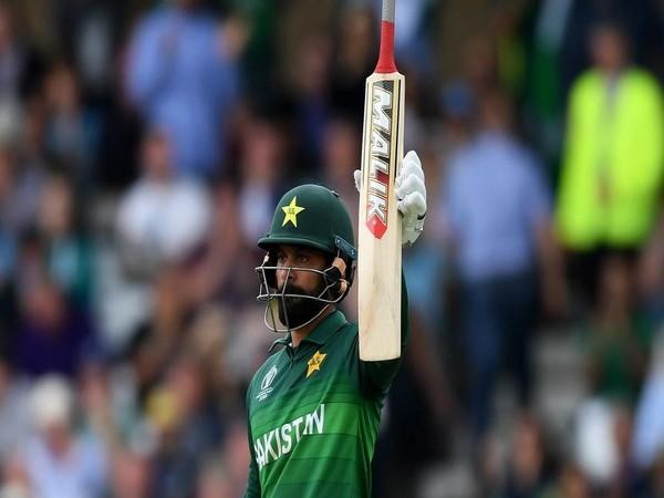 Pakistan's all-rounder Mohammad Hafeez