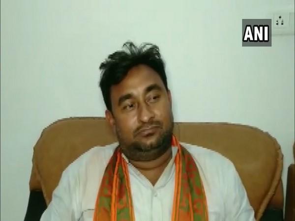 BJP MP from Bulandshahr Bhola Singh speaks to ANI on Wednesday. Photo/ANI
