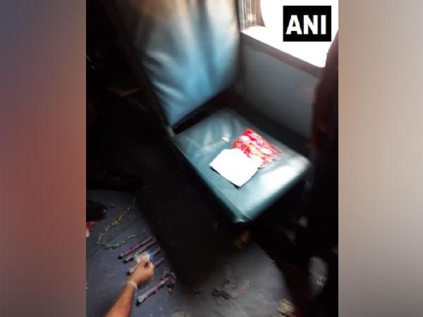 Gelatin sticks found in Shalimar Express in Mumbai.