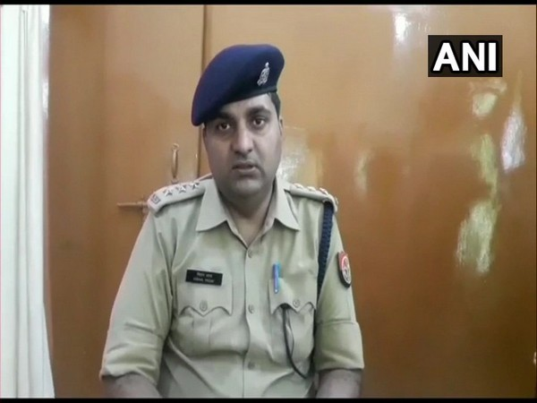 Deputy Superintendent of Police Vishal Yadav said that two people were held and six have been booked for allegedly slaughtering bovines in Moradabad. (Photo/ANI)