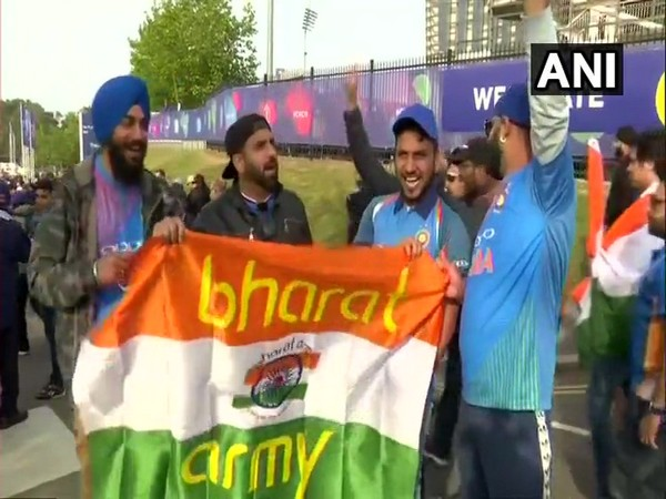 Supporters enjoying India's victory against South Africa (ANI Picture)