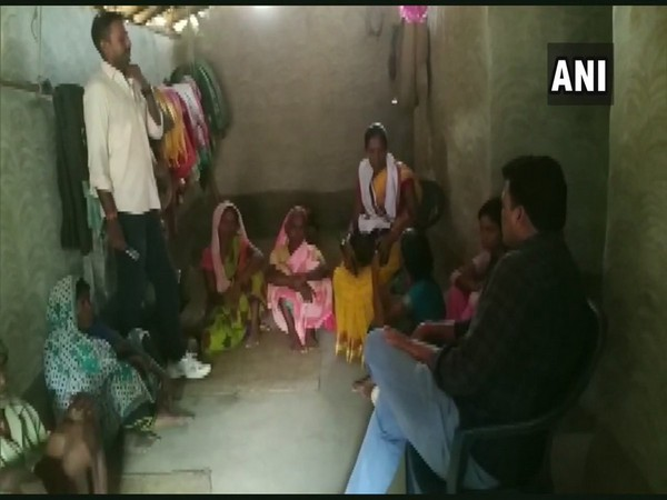 Villagers claimed that they got ration on Friday after the administration came to know about the death of Munda. Photo/ANI