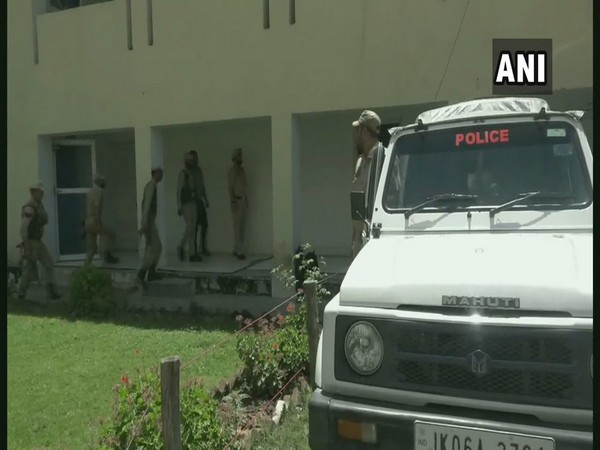 Indian Army and J&K police during the search operation in Doda on Friday. Photo/ANI