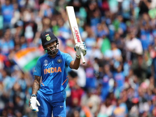 Shikhar Dhawan in action against Australia in World Cup (Photo/ BCCI Twitter)