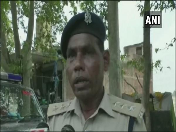 Circle Officer (CO) City Ramdas Prasad speaking to ANI in Kushinagar on Sunday. Photo/ANI