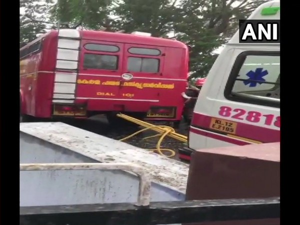 The people in the ambulance were being taken to a hospital in Palakkad
