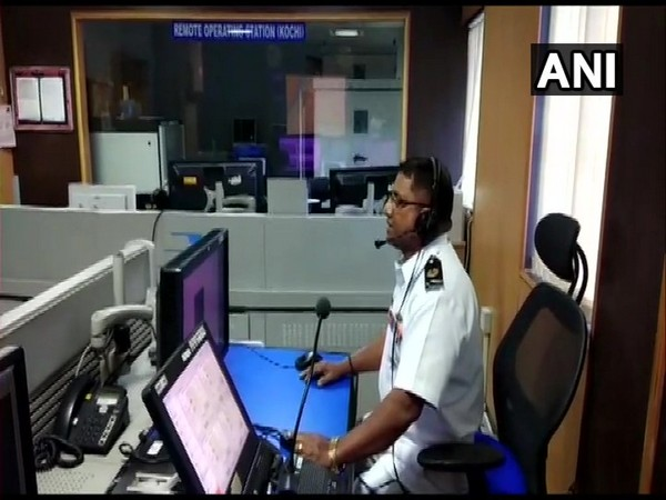Operating station at Coast Guard District Headquarters, Kochi advised local fishermen to return to harbour. Photo/ANI