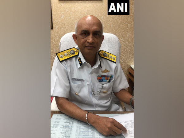 Indian Coast Guard Inspector General, KR Suresh. Photo/ANI