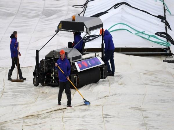 Match between Bangladesh and Sri Lanka got abandoned due to rain on Tuesday (Photo/ Cricket World Cup Twitter)