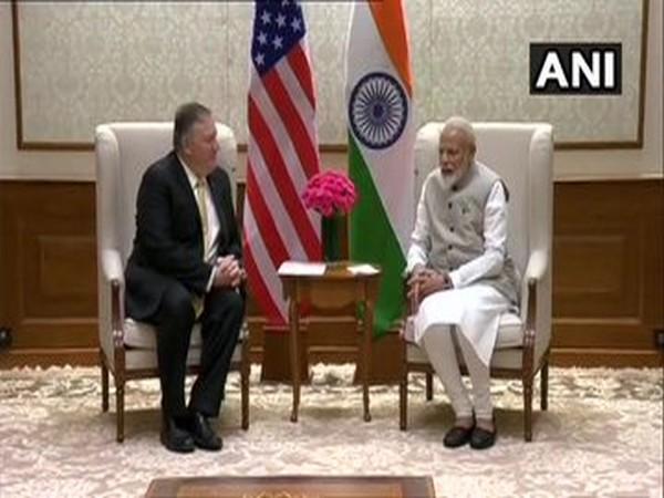 US Secretary of State Michael Pompeo met Prime Minister Narendra Modi here on Wednesday