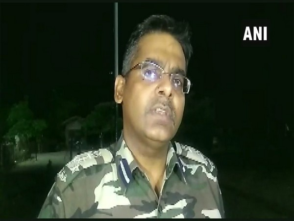 Deputy Inspector General of Police K Dwivedi speaking to ANI in Jharkhand's Kolhan on Friday. Photo/ANI