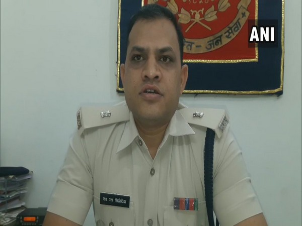 Additional Superintendent of Police (Ad. DySP) Nawal Singh Sisodia. Photo/ANI