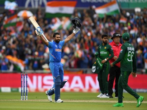 India batsman Rohit Sharma (Photo/Cricket World Cup Twitter) (File photo)