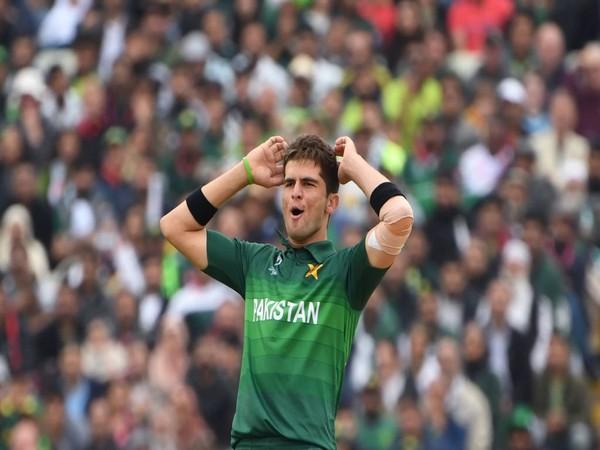 Pakistan bowler Shaheen Shah Afridi (Photo/ ICC Twitter)