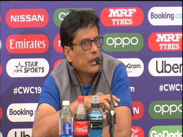 India team's strength and conditioning coach Shankar Basu