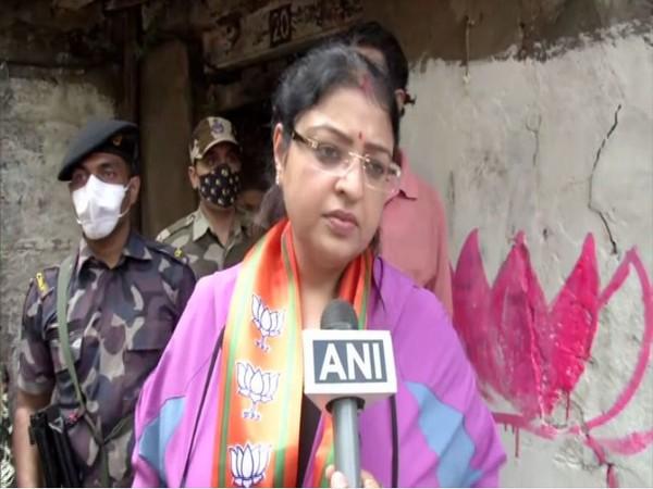 BJP Bhabanipur candidate, Priyanka Tebriwal (Photo/ANI)