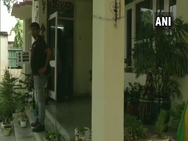 Visual from Deputy Commissioner of Police (DCP) Vikram Kapoor's residence. (Photo/ANI)