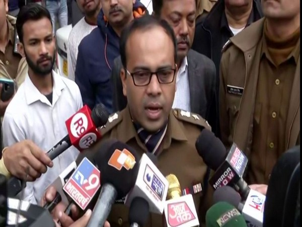 DCP South West Delhi, Devendra Arya speaking to reporters in New Delhi on Monday. Photo/ANI