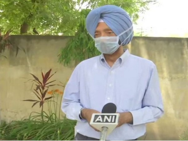 Amritsar Deputy Commissioner Shivdular Singh Dhillon speaking to ANI on Thursday. Photo/ANI