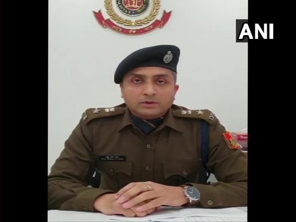 DCP South Atul Thakur speaking about action taken on alleged molestation of female students during Gargi college fest. Photo/ANI