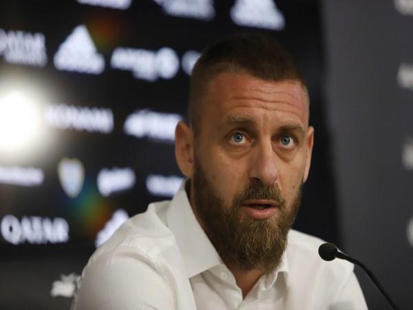 Italy assistant coach Daniele De Rossi
