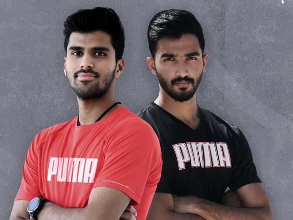 PUMA India signs Washington Sundar and Devdutt Padikkal