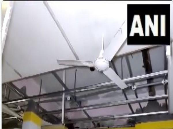 Ceiling fan falls in Mahabubabad hospital's ICU ward