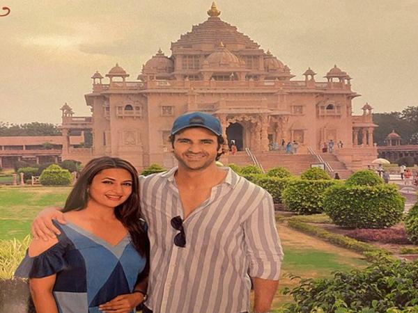 Vivek Dahiya and Divyanka Tripathi (Image source: Instagram)